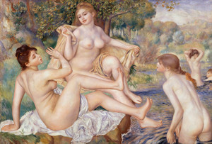 Art Prints of The Large Bathers by Pierre-Auguste Renoir