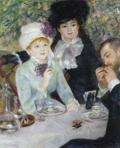 Art Prints of After the Luncheon by Pierre-Auguste Renoir