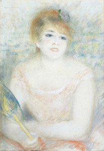 Art Prints of Jeanne Samary by Pierre-Auguste Renoir