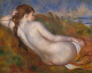 Art Prints of Reclining Nude by Pierre-Auguste Renoir