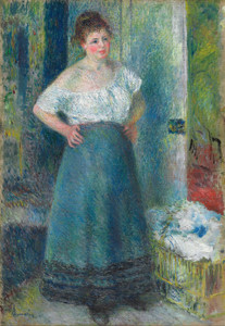 Art Prints of The Laundress by Pierre-Auguste Renoir