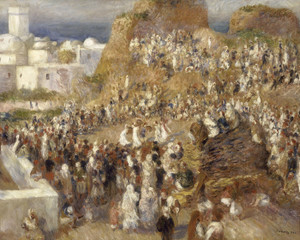 Art Prints of The Mosque by Pierre-Auguste Renoir