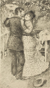 Art Prints of Dance in the Country, 1883 by Pierre-Auguste Renoir