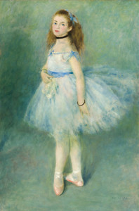 Art Prints of The Dancer by Pierre-Auguste Renoir