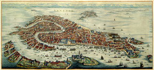 Art Prints of View of the Town of Venice, 1704 (389) by Pieter Mortier
