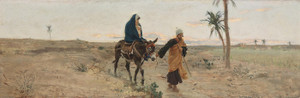 Art Prints of The Flight into Egypt by Raffaello Sorbi