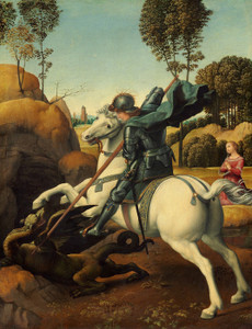 Art Prints of Saint George by Raphael Santi