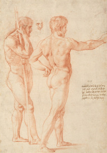 Art Prints of Nude Studies 1515 by Raphael Santi