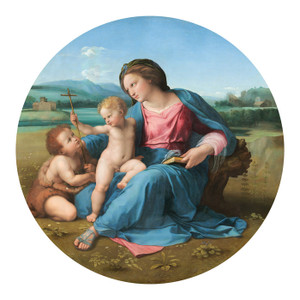 Art Prints of The Alba Madonna by Raphael Santi