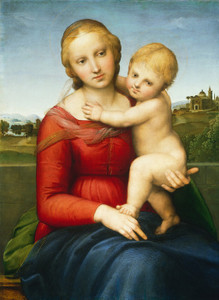Art Prints of The Small Cowper Madonna by Raphael Santi