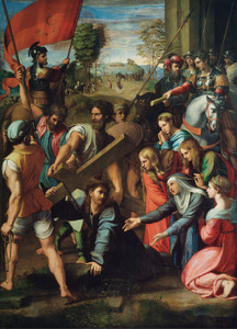 Art Prints of Christ Carrying the Cross by Raphael Santi