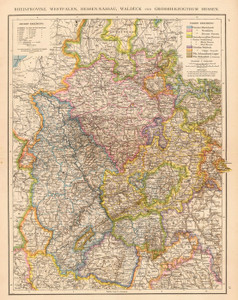 Art Prints of Rhine Province (1494023) by London and Andree