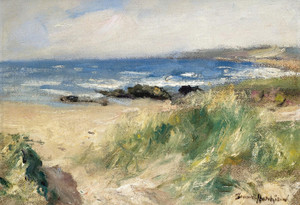 Art Prints of A Sandy Bay by Robert Gemmell Hutchison