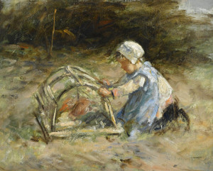 Art Prints of The Rabbit Hutch by Robert Gemmell Hutchison