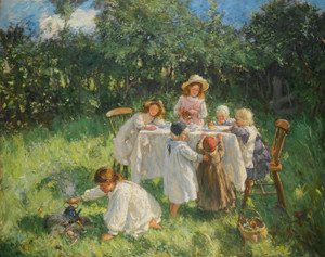 Art Prints of The Young Arcadians by Robert Gemmell Hutchison