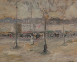 Art Prints of A View of Paris by Robert Henri