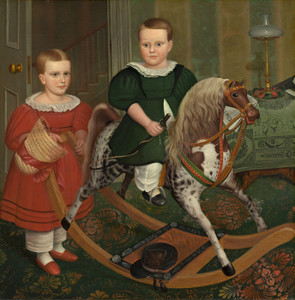 Art Prints of The Hobby Horse by Robert Peckham