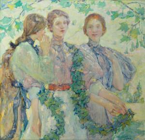 Art Prints of The Trio by Robert Reid