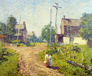 Art Prints of Crossroad, 1918 by Robert Spencer
