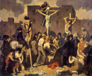 Art Prints of Crucifixion by Robert Spencer