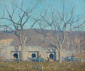 Art Prints of Lime Kiln, Point Pleasant by Robert Spencer