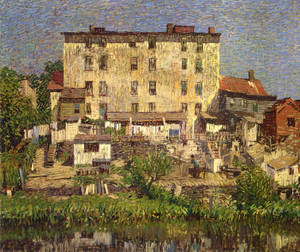 Art Prints of The White Tenement by Robert Spencer