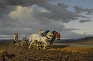 Art Prints of The Laborage by Rosa Bonheur