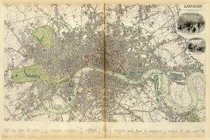 Art Prints of Great Britain, London, 1836 (0890183), Great Britain Map
