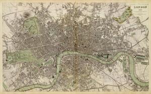 Art Prints of Great Britain, London, 1843 (0890184), Great Britain Map