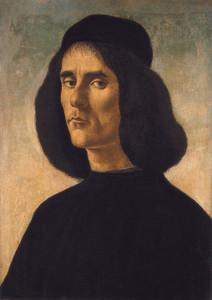 Art Prints of Michael Tarchaniota Marullus by Sandro Botticelli