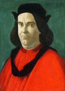 Art Prints of Portrait of Lorenzo di Ser Piero Lorenzi by Sandro Botticelli
