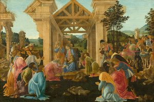 Art Prints of The Adoration of the Magi II by Sandro Botticelli
