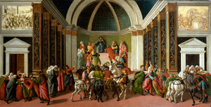 Art Prints of The Story of Virginia by Sandro Botticelli