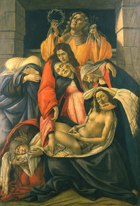 Art Prints of The Lamentation over the Dead Christ by Sandro Botticelli