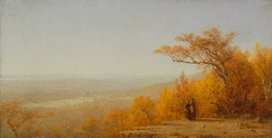 Art Prints of A View from Eagle Rock, New Jersey by Sanford Robinson Gifford