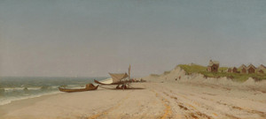 Art Prints of Long Branch Beach by Sanford Robinson Gifford