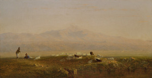 Art Prints of The Roman Campagna by Sanford Robinson Gifford