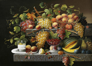 Art Prints of Still Life of Fruit by Severin Roesen