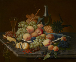 Art Prints of Still Life with Fruit II by Severin Roesen