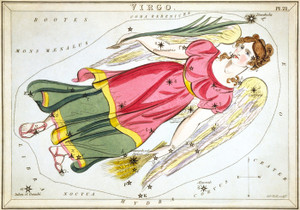 Art Prints of Virgo, Plate 21, View of the Heavens by Sidney Hall
