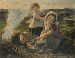 Art Prints of The Bonfire by Sophie Anderson