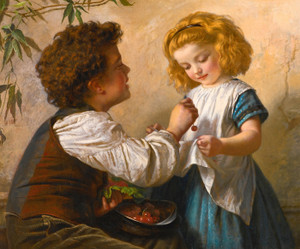 Art Prints of The Cheat by Sophie Anderson
