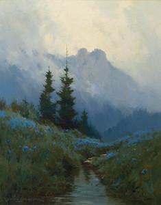 Art Prints of Alaska Wild Iris by Sydney Laurence
