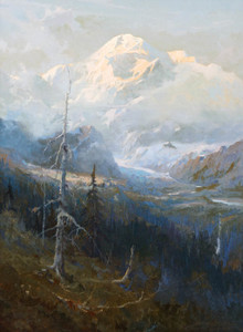 Art Prints of Mount McKinley, 1928 by Sydney Laurence