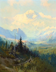 Art Prints of Mount McKinley, No. 959, 1928 by Sydney Laurence