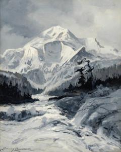 Art Prints of Mt. McKinley VI by Sydney Laurence