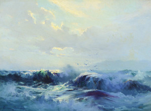 Art Prints of Seascape by Sydney Laurence