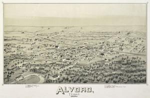 Art Prints of Alvord, Texas, 1890 by Thaddeus Mortimer Fowler