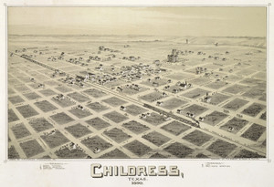 Art Prints of Childress, Texas, 1890 by Thaddeus Mortimer Fowler