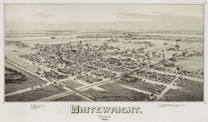 Art Prints of Whitewright, Texas, 1891 by Thaddeus Mortimer Fowler